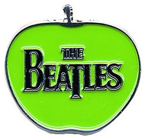 Beatles Apple large metal / enamel pin badge    (ro)
